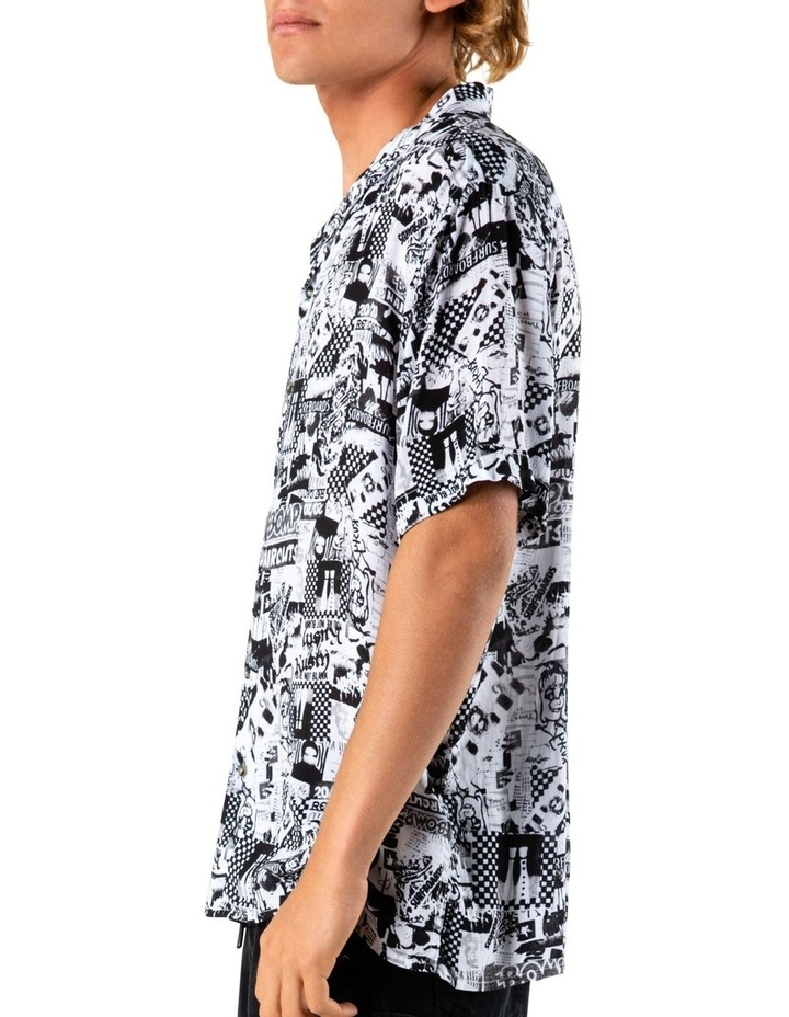 Flick Knife Short Sleeve Rayon Shirt image 3