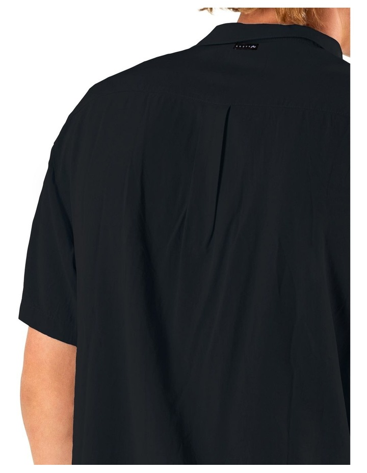 Razor Blade Short Sleeve Rayon Shirt image 4