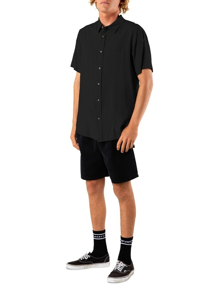 Razor Blade Short Sleeve Rayon Shirt image 6