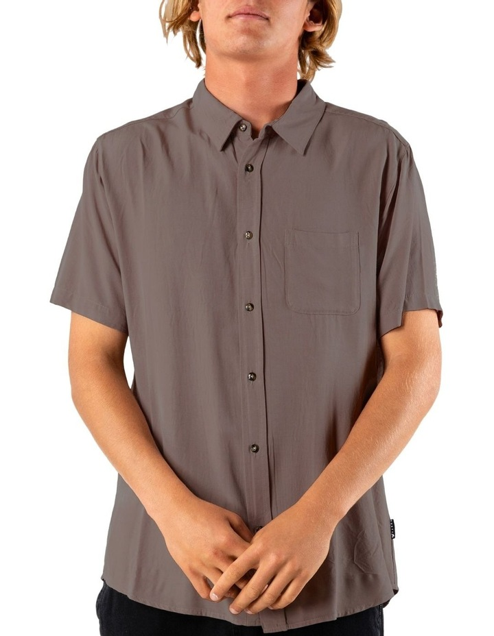 Razor Blade Short Sleeve Rayon Shirt image 1