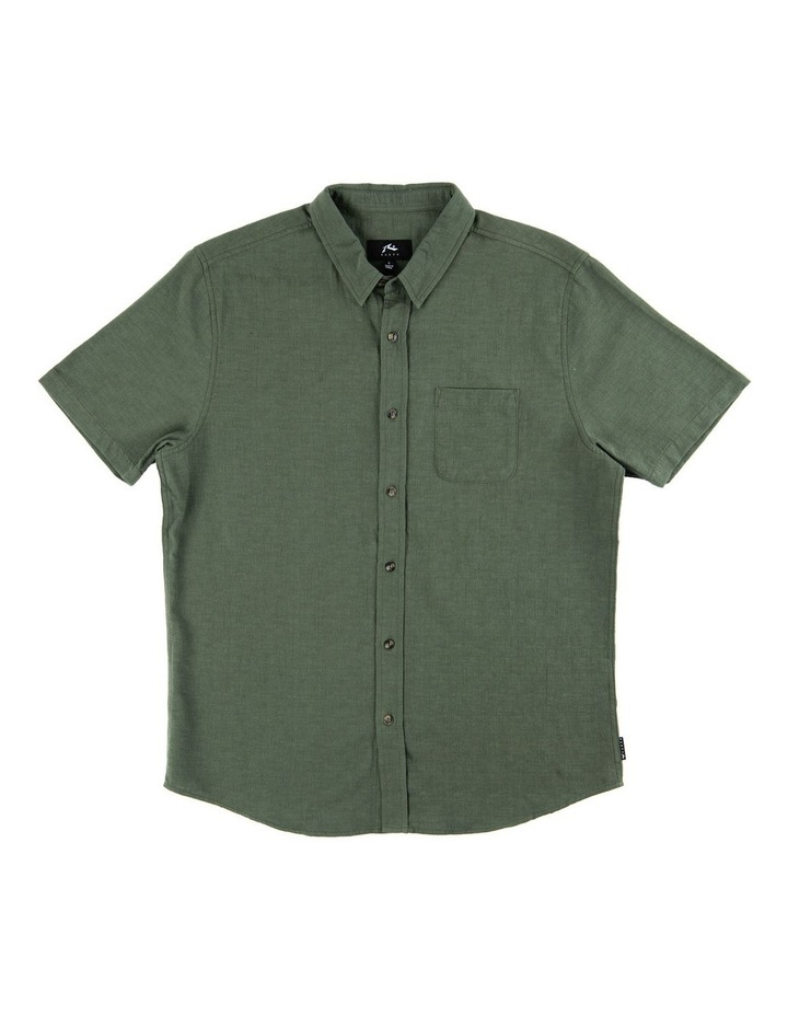 Overtone Short Sleeve Linen Shirt image 7