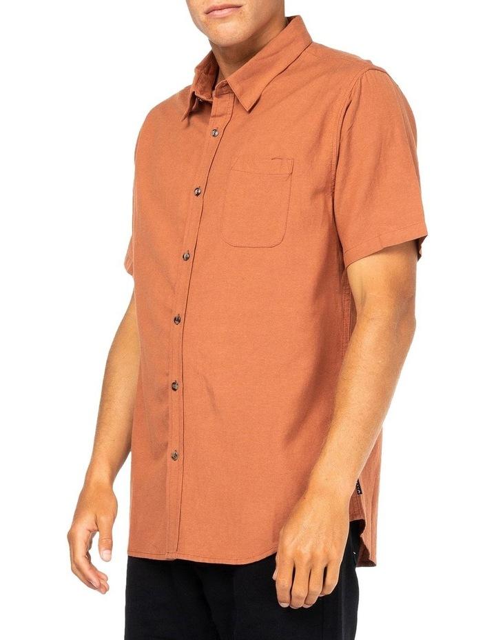 Overtone Short Sleeve Linen Shirt image 3