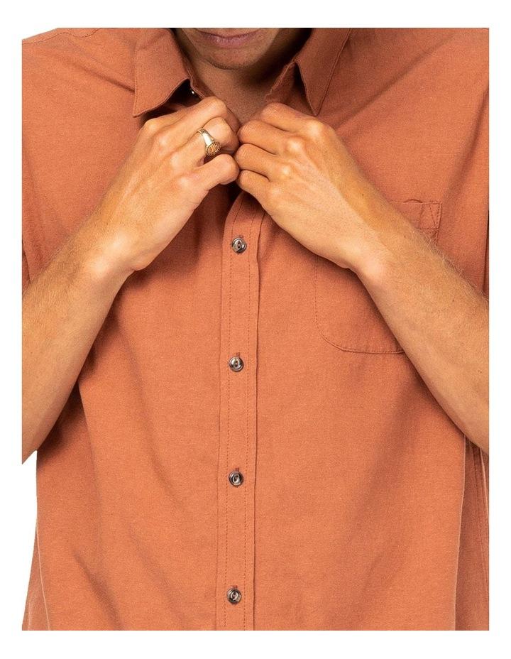 Overtone Short Sleeve Linen Shirt image 4