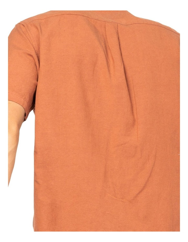 Overtone Short Sleeve Linen Shirt image 5