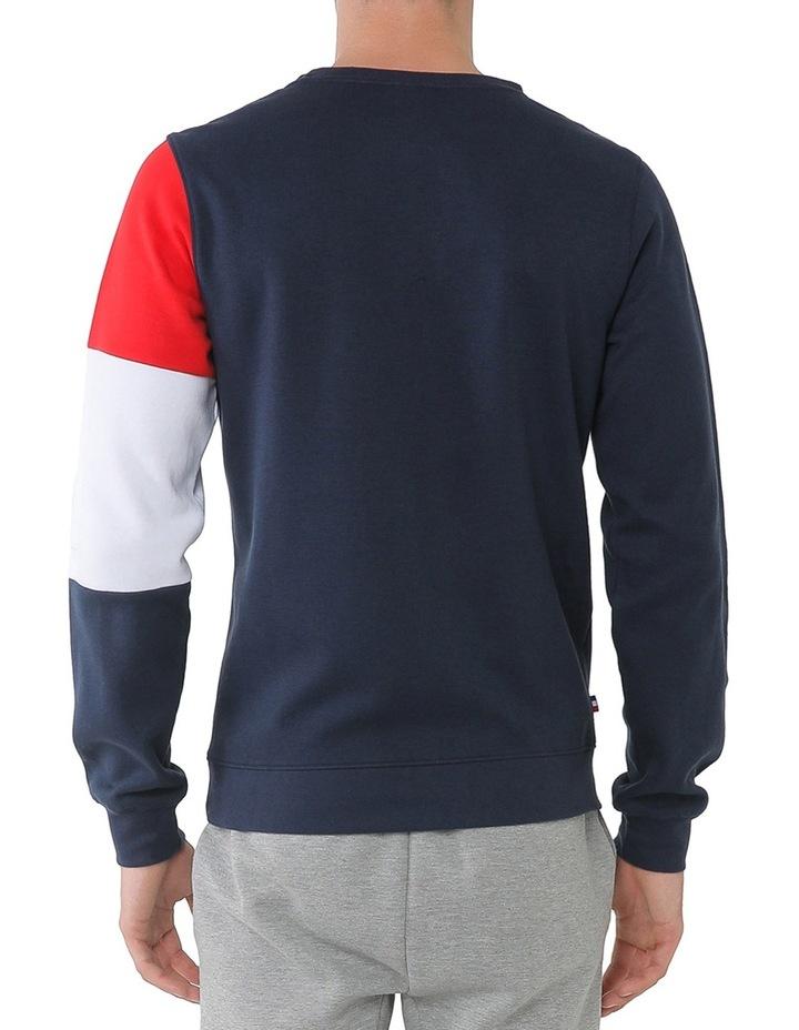 Tricolore Pullover Sweater image 3