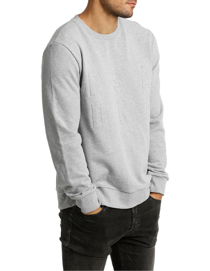 Stand Up Crew Neck Sweat image 2