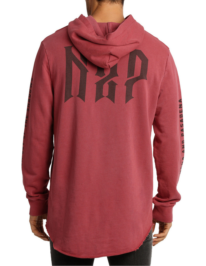 Wanted Long Sleeve Hooded Sweat image 3