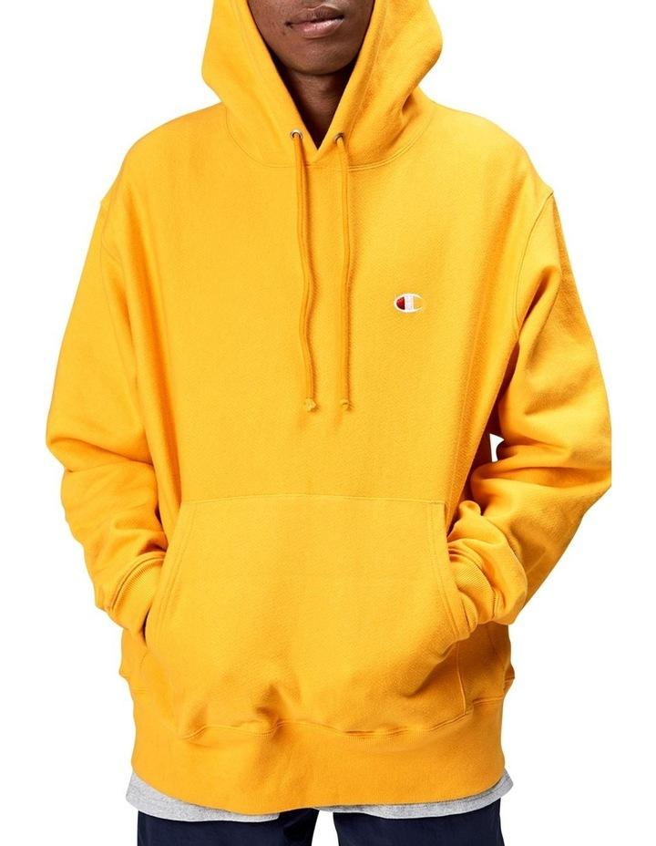 yellow champion hoodie