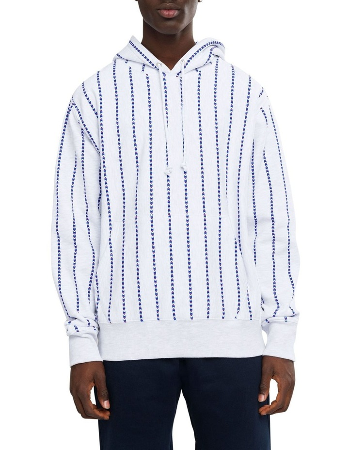 Reverse Weave Terry Pullover Hood All Over Print image 1