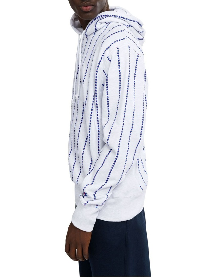 Reverse Weave Terry Pullover Hood All Over Print image 2