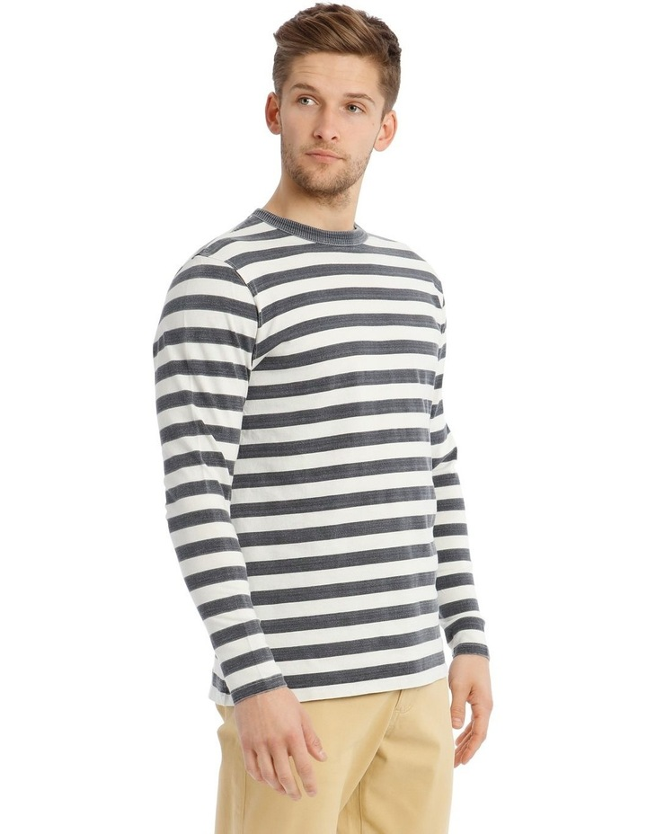 Lochie Fleece Crew-Neck Sweater - Dirty Denim image 2