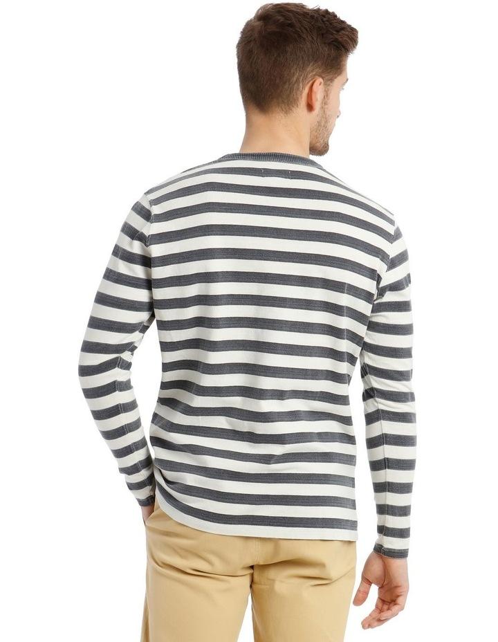 Lochie Fleece Crew-Neck Sweater - Dirty Denim image 3