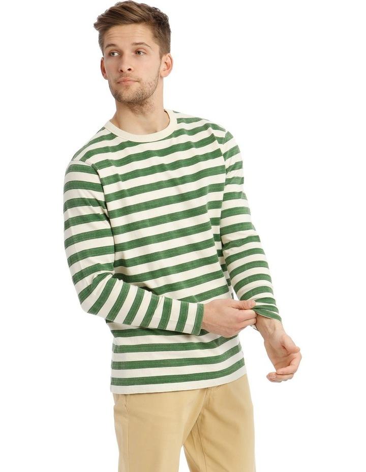 Lochie Fleece Crew-Neck Sweater - Basil image 2