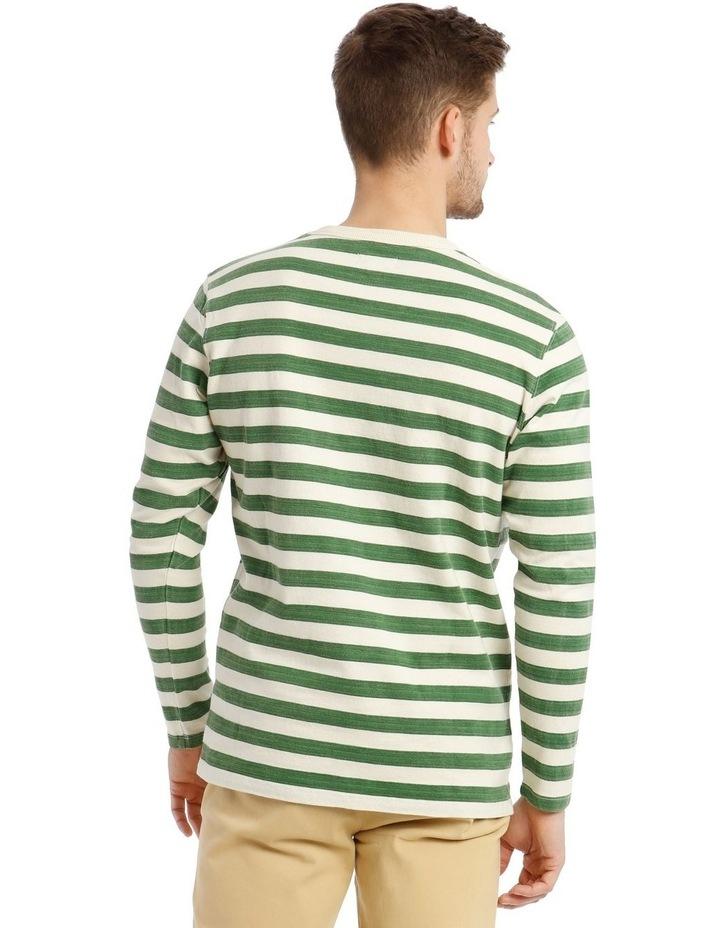 Lochie Fleece Crew-Neck Sweater - Basil image 3
