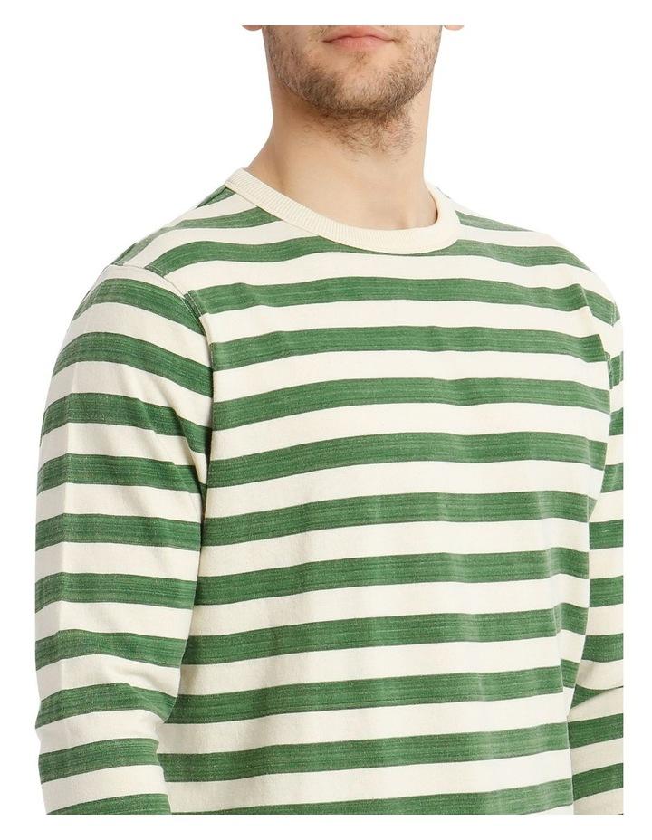Lochie Fleece Crew-Neck Sweater - Basil image 4
