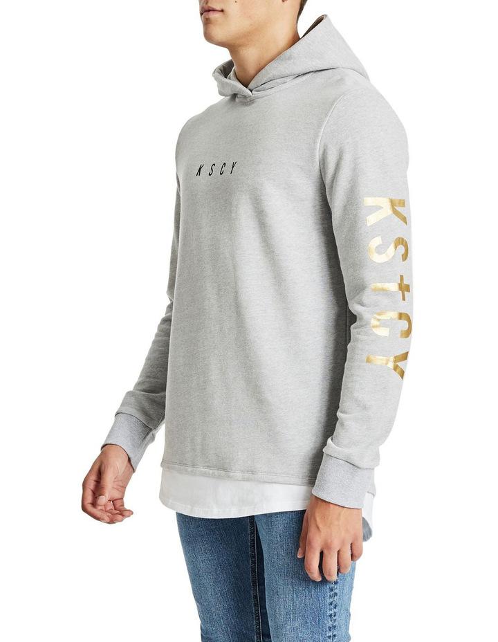 Nightmare Layered Hem Hooded Sweater image 3