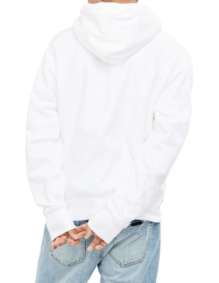 Reverse Weave Hood with Script image 3