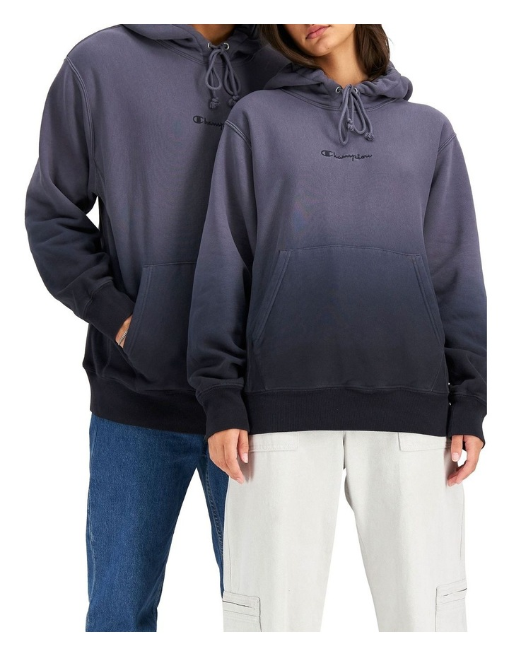 Ombre Reverse Weave Hoodie image 1
