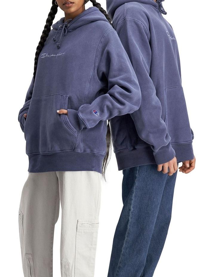 Reverse Weave Terry Garment Dye Hoodie image 2