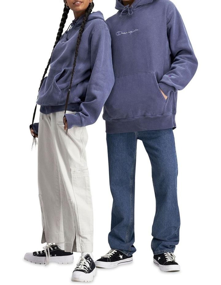 Reverse Weave Terry Garment Dye Hoodie image 4