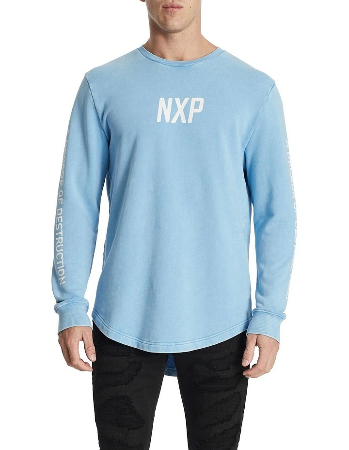 Numbers Dual Curved Sweater image 1