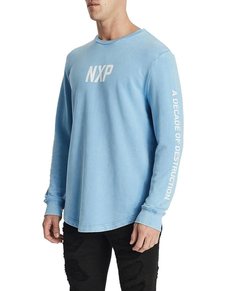 Numbers Dual Curved Sweater image 3