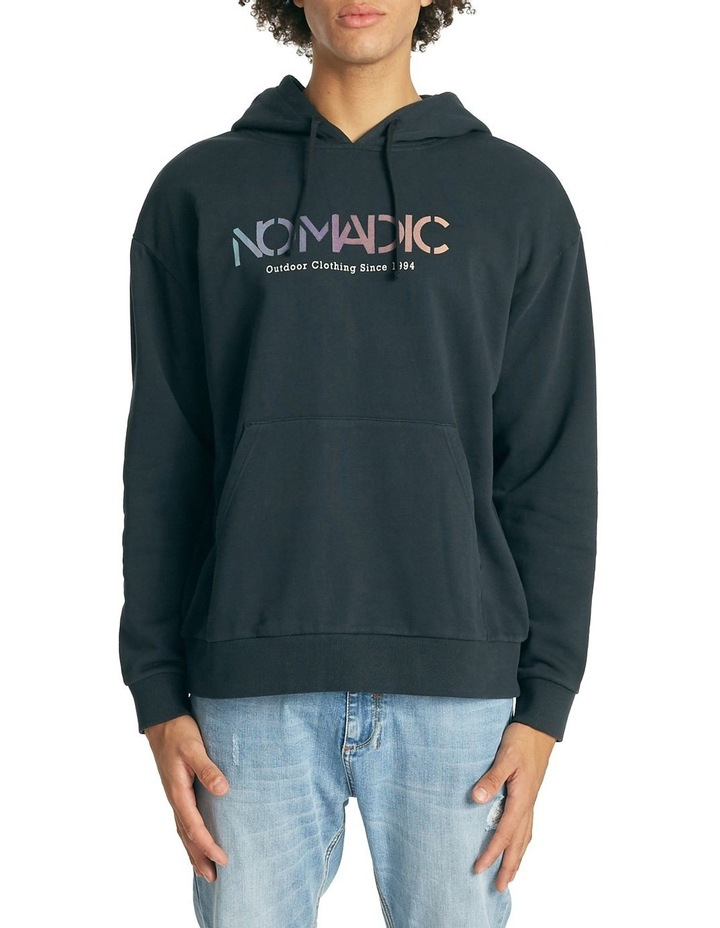 Undersea Relaxed Hooded Sweater image 1