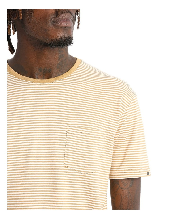 Stripe Pocket Tee image 4
