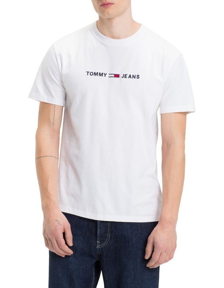 TJM SMALL TEXT TEE image 1