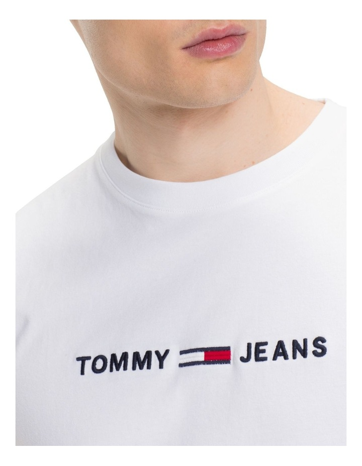 TJM SMALL TEXT TEE image 2
