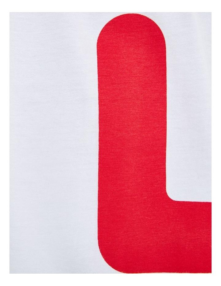 Bennet Letter Aop Block Short Sleeve Tee image 5