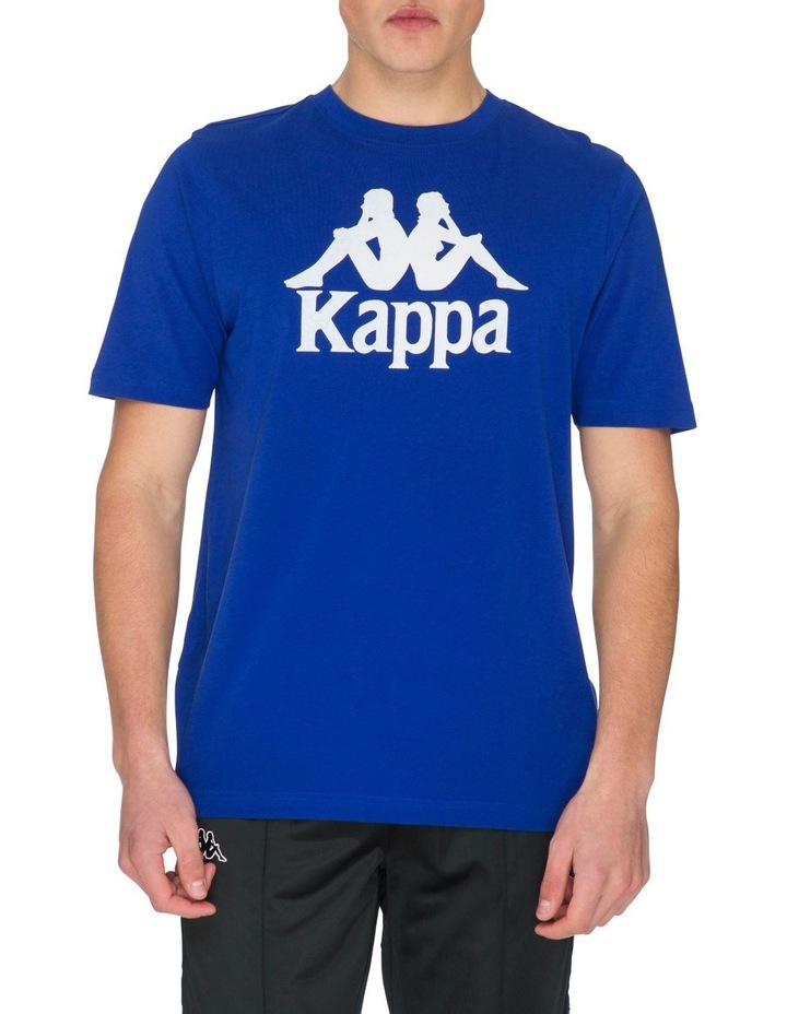 Authentic Kimbelz Short-Sleeve T-Shirt in Blue image 1