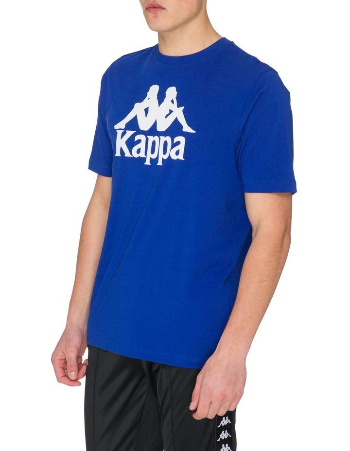 Authentic Kimbelz Short-Sleeve T-Shirt in Blue image 2