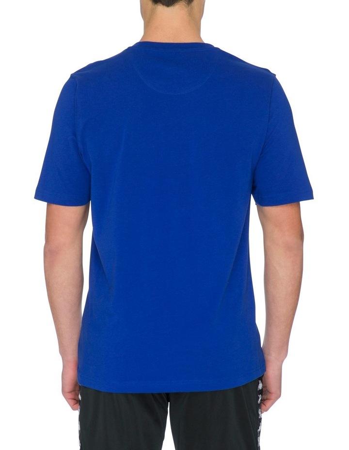 Authentic Kimbelz Short-Sleeve T-Shirt in Blue image 3