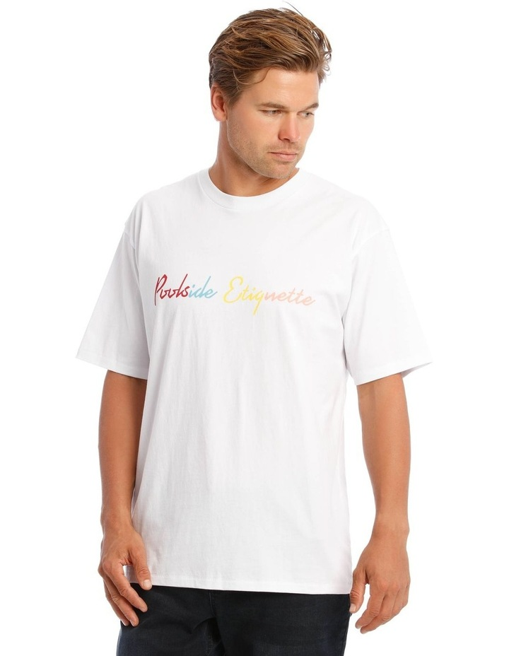 White Pool T-Shirt image 1