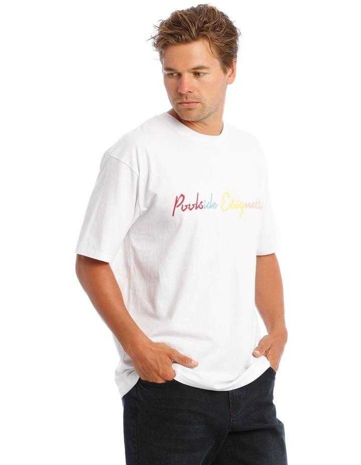 White Pool T-Shirt image 3