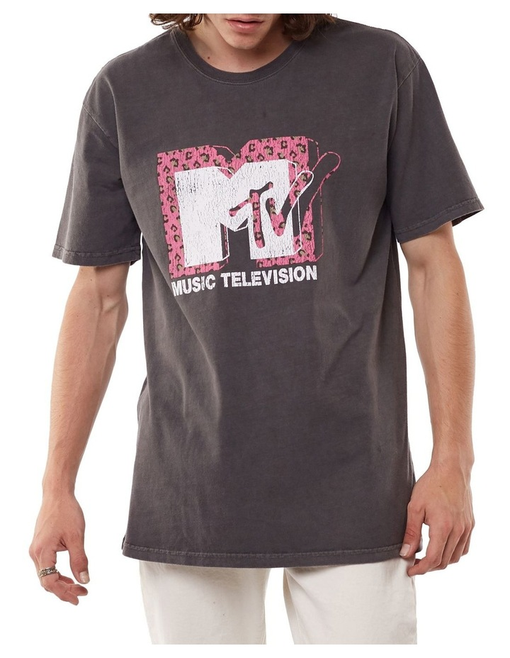 MTV Pink Leopard Tee image 1