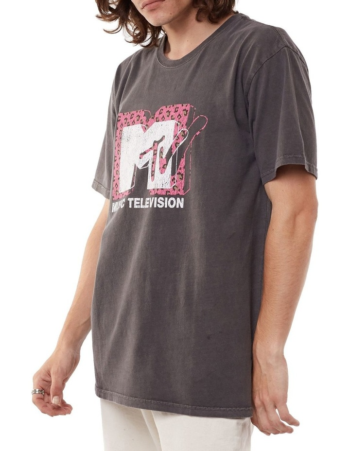 MTV Pink Leopard Tee image 3
