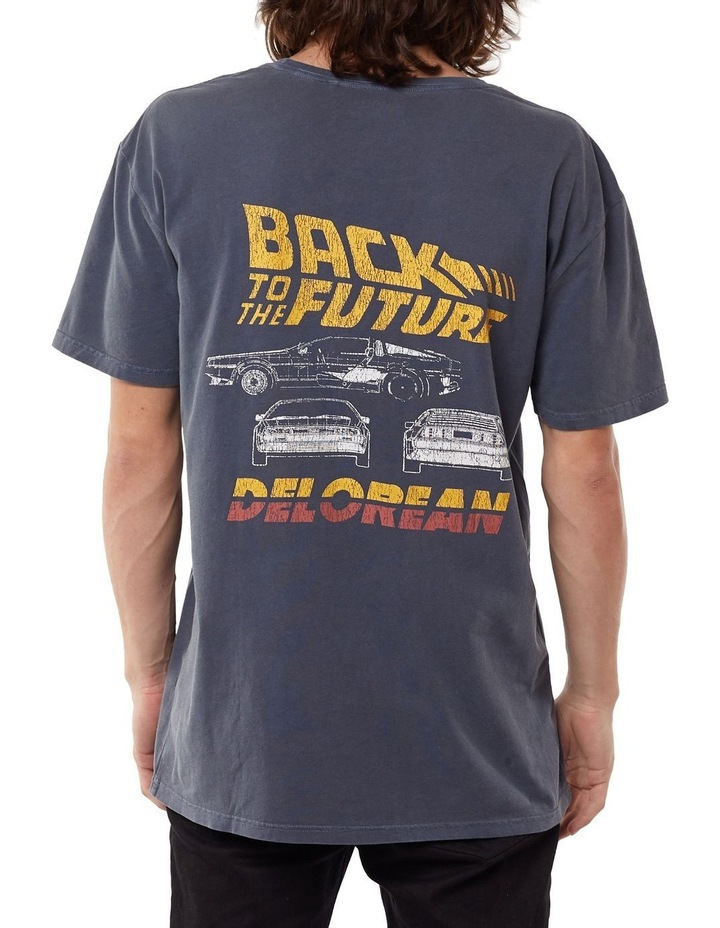 Back To The Future Delorean Tee image 2