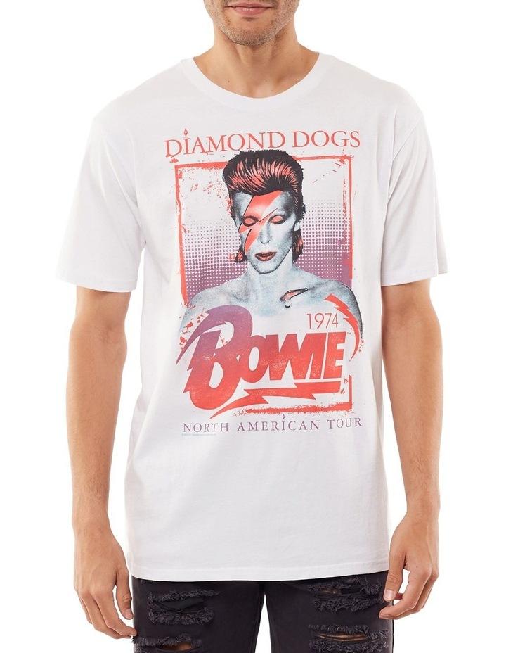David Bowie Ziggy Tee image 1