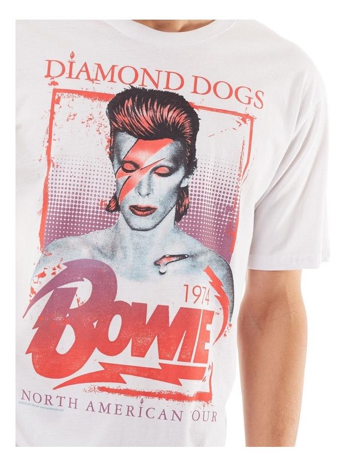 David Bowie Ziggy Tee image 4