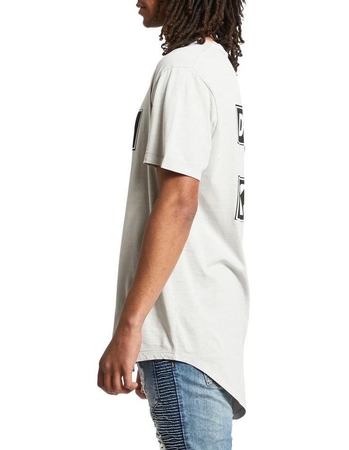 Logo Curved Hem T-Shirt image 3