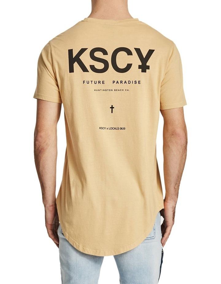 Future Paradise Dual Scoop T-Shirt image 3