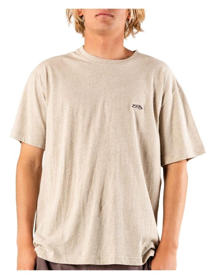 Long Tom Short Sleeve Linen Tee image 1
