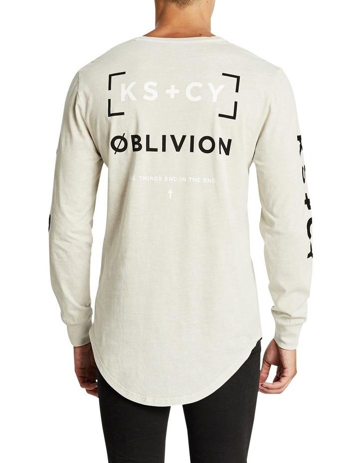 Oblivion Cape Back Long Sleeve Tee image 2