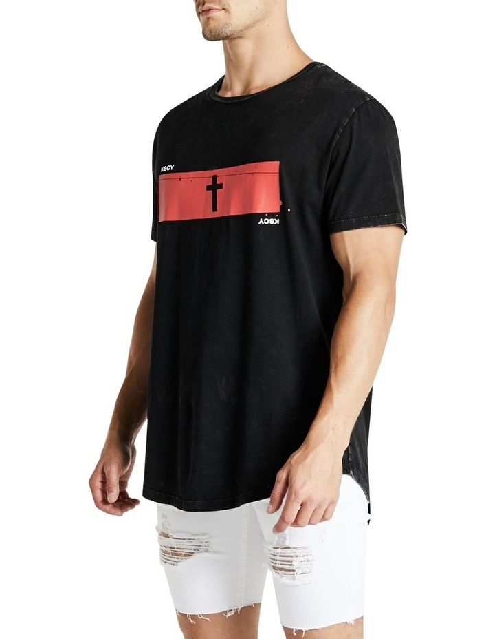 Paradise Is Burning Dual Curved Tee image 3
