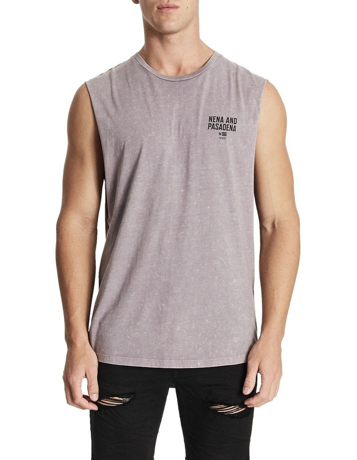 Not Trusted Scoop Back Muscle Tank image 1