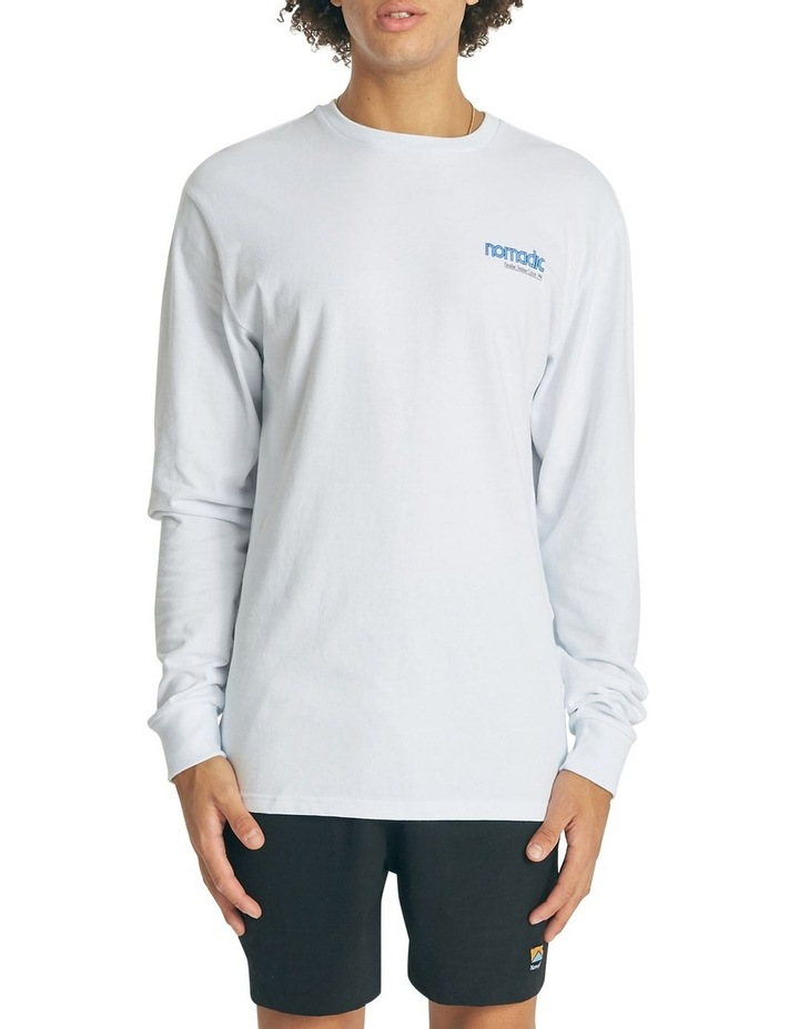 Valleys Relaxed Long Sleeve Tee image 1