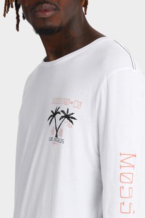 Mossimo - Palms Long Sleeve Longline Tee