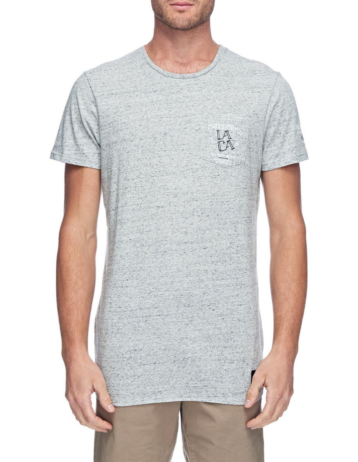 LACA Original Scoop Hem Tee image 1
